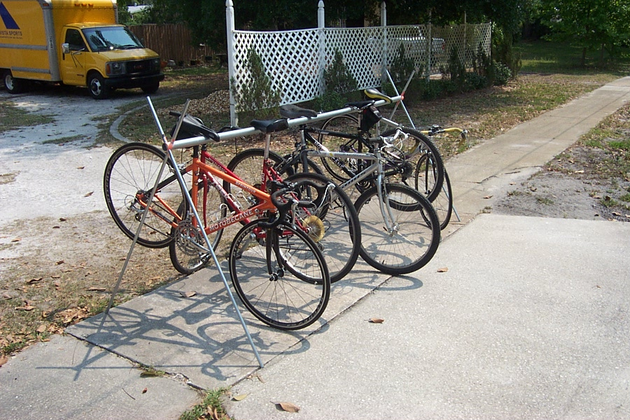 The Triathlon Bike Rack Pictures And Video